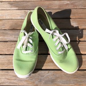 Keds Original Sneakers Lime Green Size 7